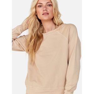 MATE the Label Organic Terry Raglan Sweatshirt NWT
